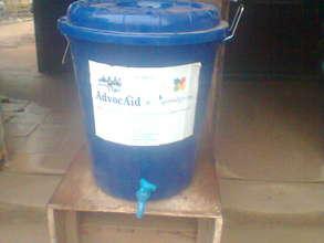 Distribution of Ebola prevention materials