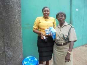 Ebola distribution at Freetown prison