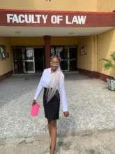 Chioma at University
