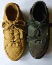 Shoe sculpture by Ramon