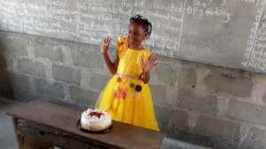 Precious on her birthday, November 2020