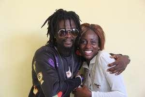 Josephine with musician/survivor advocate Takun J