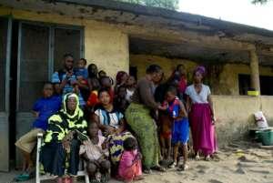 Ebola Survivor Dr. Gassama and community, Guinea