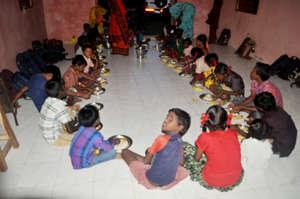Provide meals to underprivileged tribal children