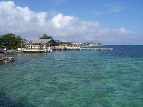 Utila fishing town