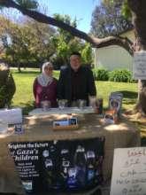 Penni and Abu Munzer at Saratoga, CA mosque