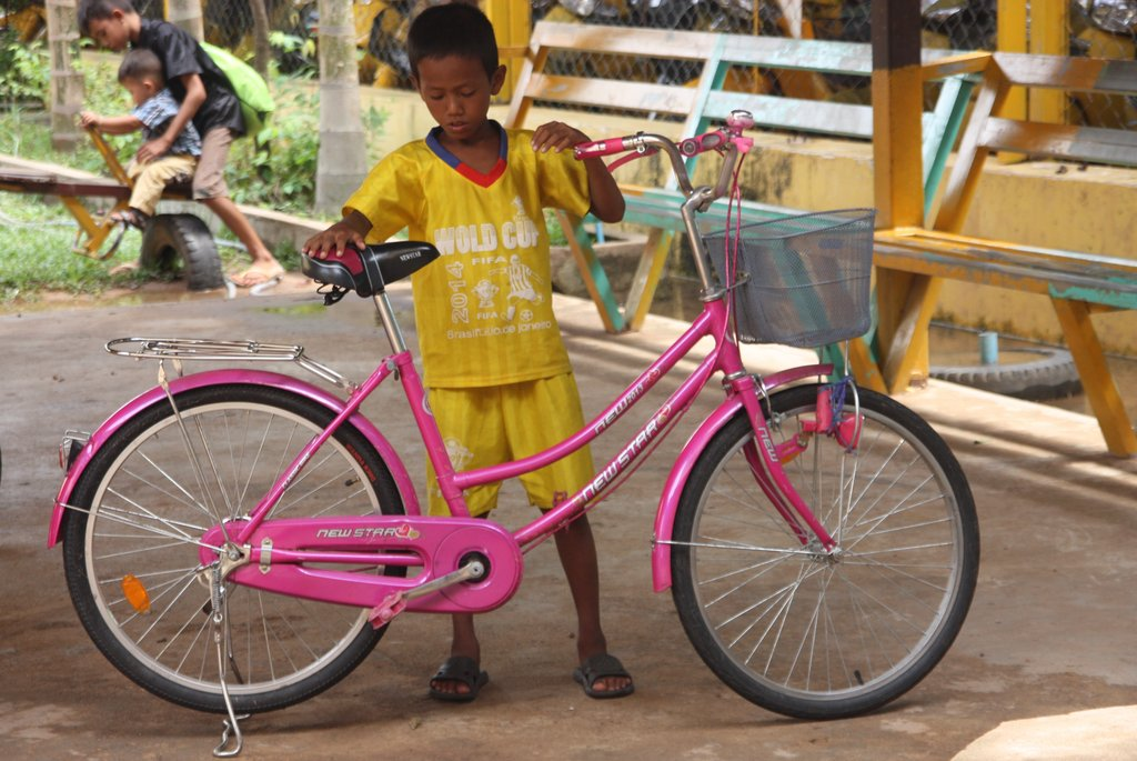 Cycling for Bikes and Running for Shoes