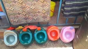Spending the last donations - potties for Joy BC
