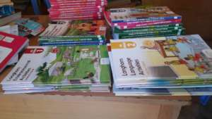 Buying the last of the new curriculum text books