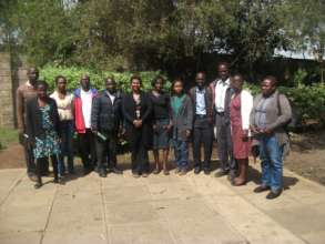 Our trainees who are now empowering others