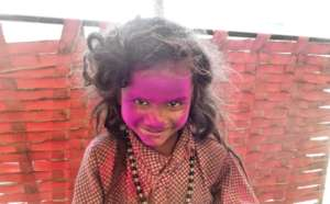 The Color's of Rainbow with Street Kids