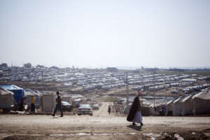 IDP camp.