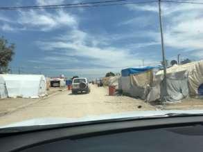 IDP camp in KRI