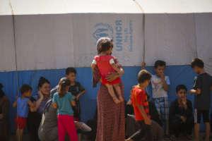 Gathered at the IDP Camp