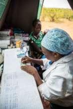 CHAT Nurse providing services to a client.