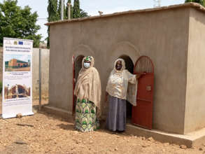 Beneficiaries of the UE project in Benin