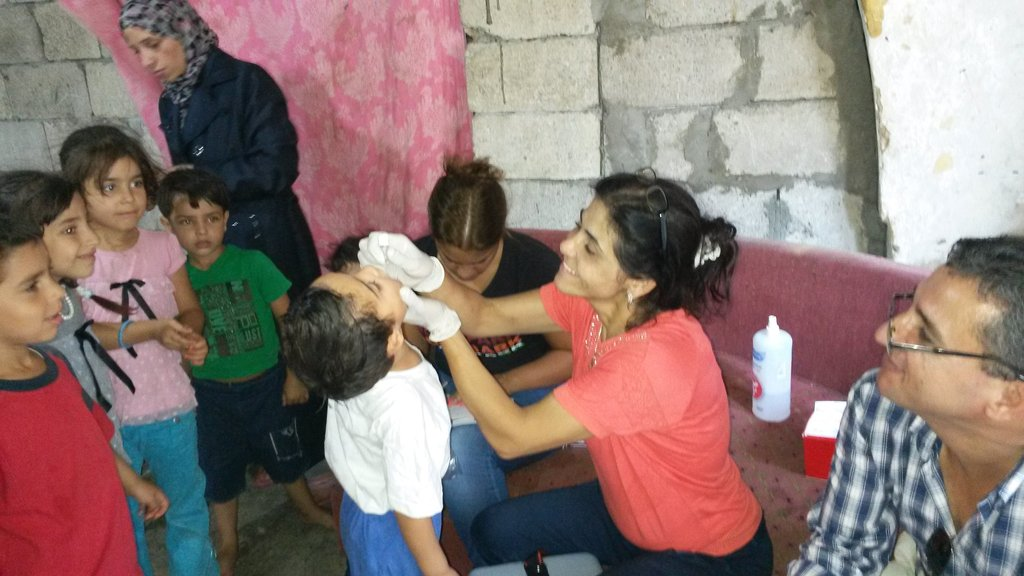 Healthcare for 2500 Syrian refugees, south Lebanon