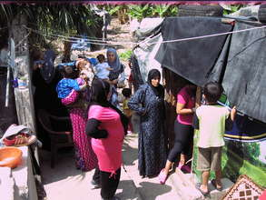 Clinic running at refugee settlement in Tyre