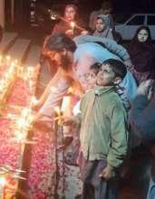 Candlelight vigil held in School