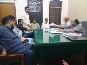 Meeting of SDA Official with CEO Health Authority