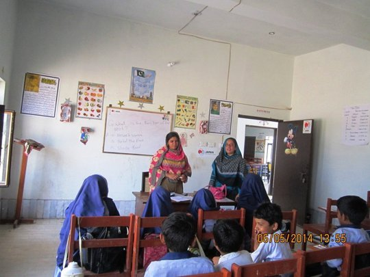 Free Education for 100 poor girls in Pakistan