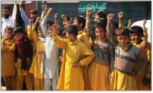 Students of Village Rukhla