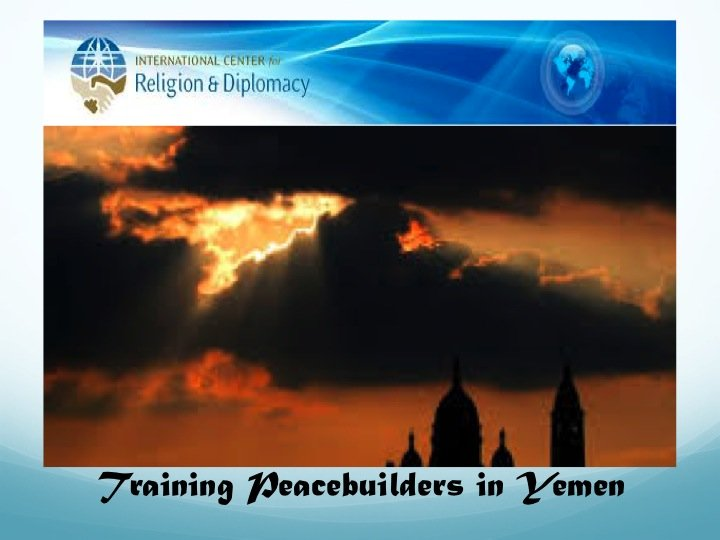 Training Peacebuilders in Yemen