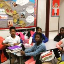 Jamaal 'Mr. Root' Collier at Friendship PCS