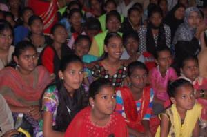 Over 100 slum girls have attended Malala workshops