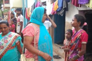 Our peer educators conduct regular slum surveys