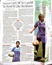 National coverage of Shubhangi's selection