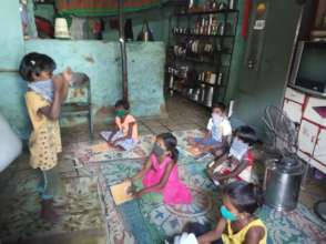 Small classes in our teachers' homes
