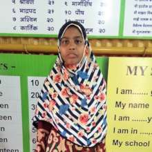 Nilima is finding her voice through education
