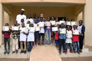 CodeNERDE 1st Graduating Class of Roboticians