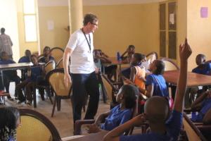 Michael Teaching Computing in Bamako