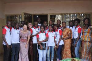 Part of the iNERDE team (in Mali)