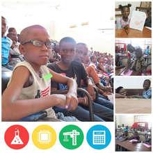 The full class in Mali