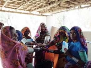 Bajani community during meeting