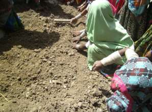 Thari women training on Kitchen Gardening