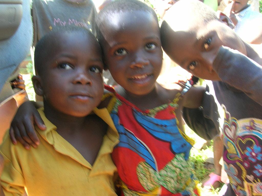 Buy new school shoes for 10 orphans in Uganda