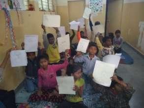 Chacha Nehru - Children observing Children's Day
