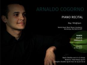 Piano Recital by Arnaldo Cogorno