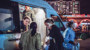 ARF van in Moscow. MAX AVDEEV/THE NEW YORK TIMES