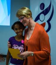 Maryeth with CAA Member Linda D.