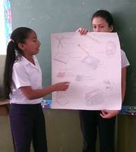 One of Our Students Students Giving Her Report