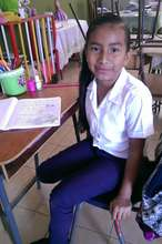 Young Scholarship Student in English Class