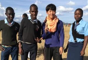 Korean and Kenyan Students