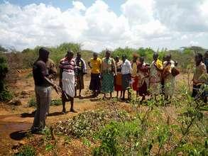 Training Samburu County Officials