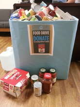 Food Drive by NYU students for RLC