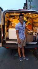 Truckloads of food!